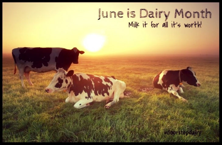 June is Dairy Month
